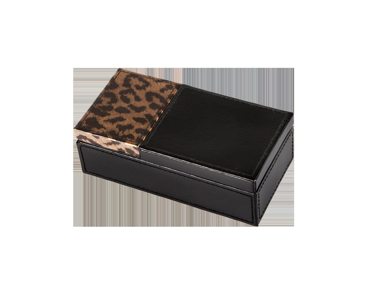 Joyero pequeño leopardo